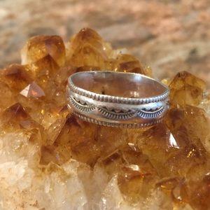 Vintage Sterling Native American Ring